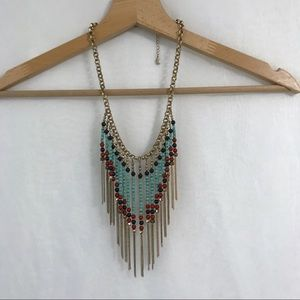 Aldo Tribal / Aztec / Boho Style Necklace
